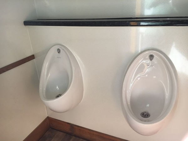 trailer Interior Urinal