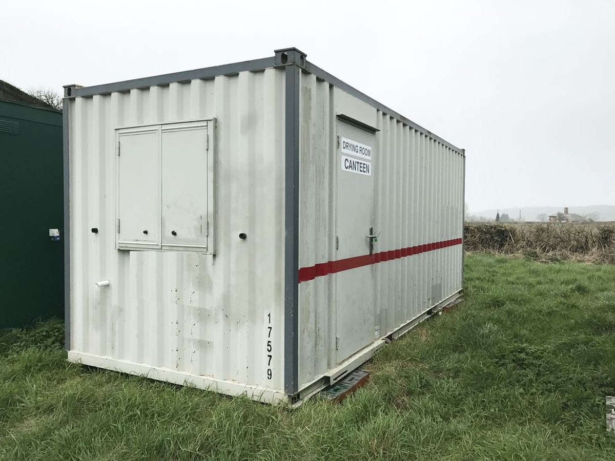 Secondhand Portable Buildings | Canteens and Cafes | 20ft ...