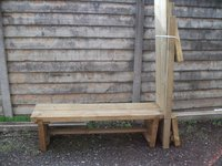 20x Outdoor Wooden Benches (Code OF 164A)