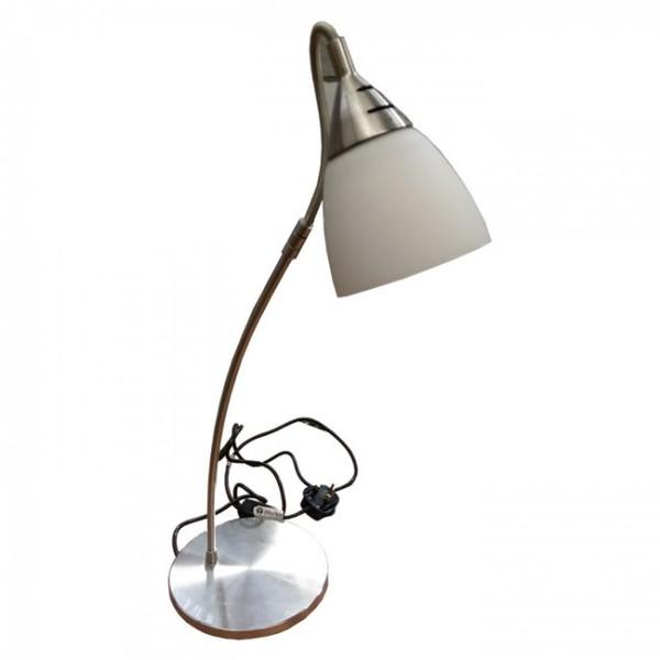 silver desk lamps