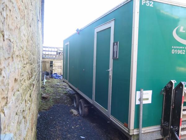 toilet trailer, 5+1