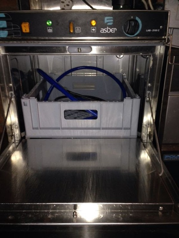 Asber Dishwasher Inside