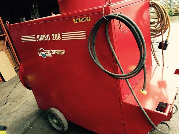 Jumbo 200 Marquee heater