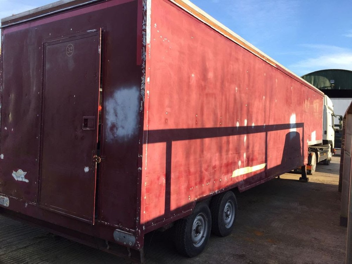 Secondhand Trailers Catering Trailers Mini Artic