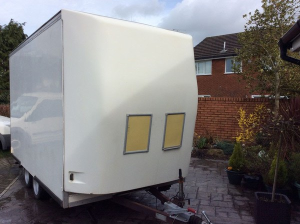 Exhibition Trailer Front And Tow Bar