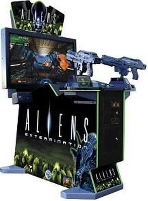 Aliens Extermination Deluxe Arcade Machine