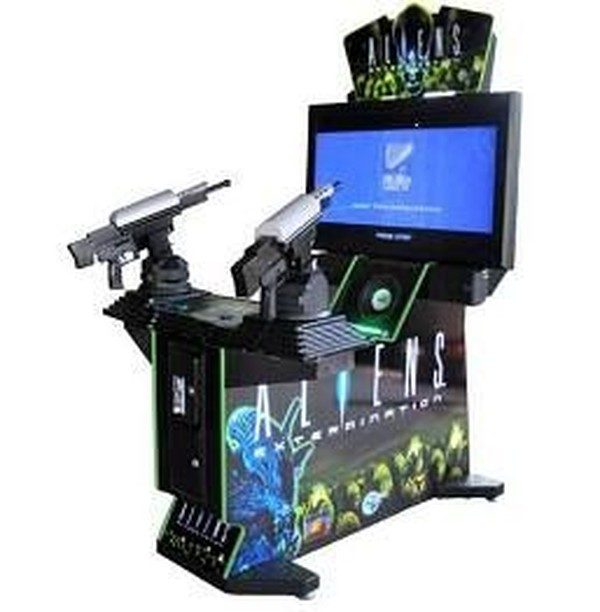 Aliens Extermination Deluxe Arcade Machine for sale