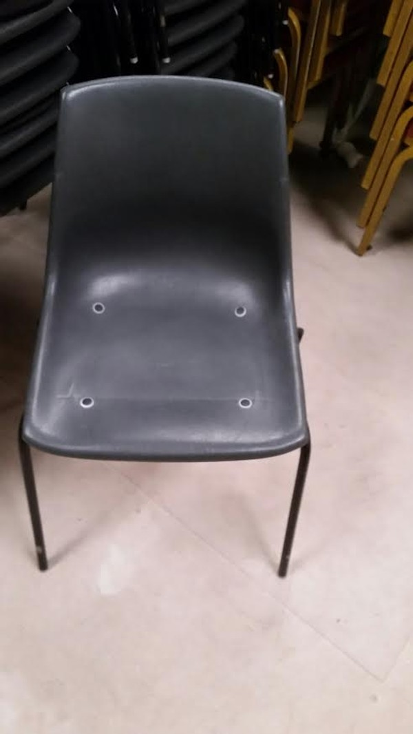 Black Chairs Front