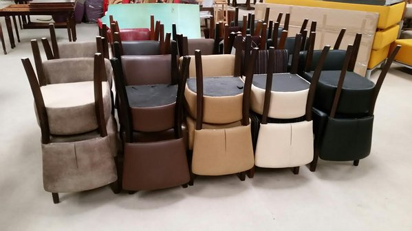 Mix Of Upholstered Oregon Chairs