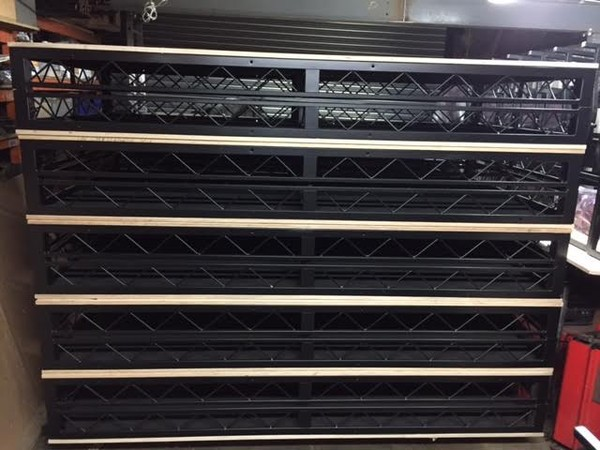 8'x 4' Steeldeck Stacked