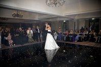 EX HIRE Black LED dance floor
