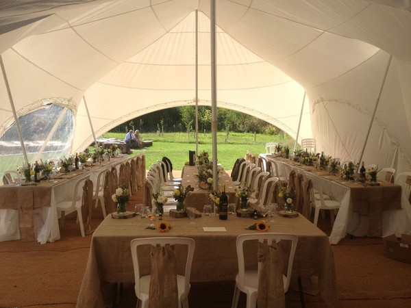 Capri Marquee Style Inside Looking Out