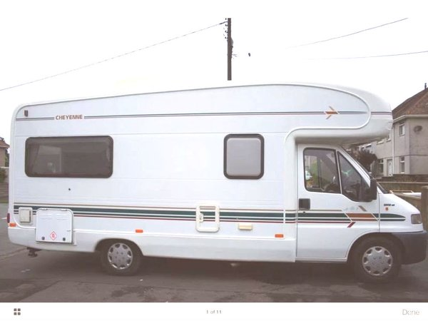 Autotrail Cheyenne 634 for sale