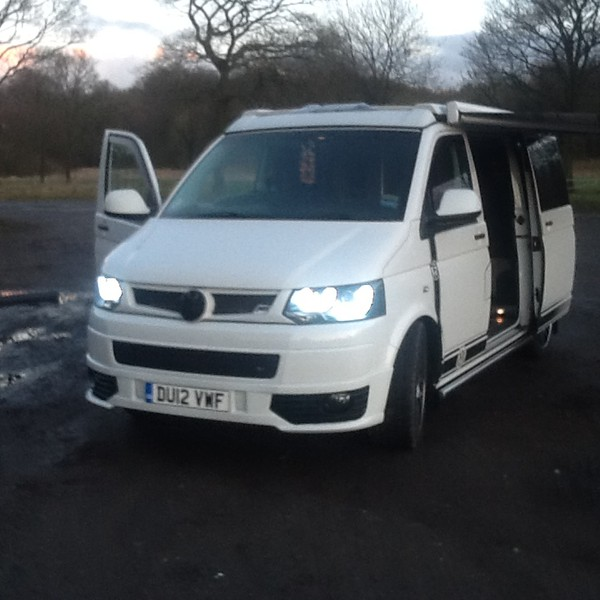 VW Transporter T5.1 2012 4- Berth Pop Top