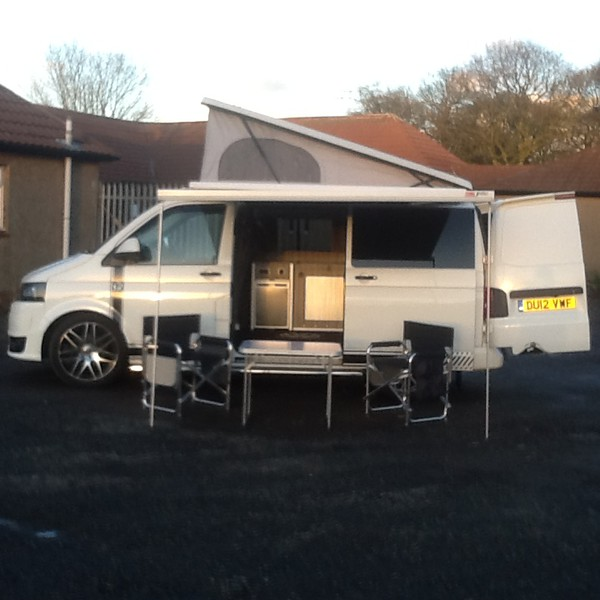 VW Transporter T5.1 2012 4- Berth Pop Top for sale