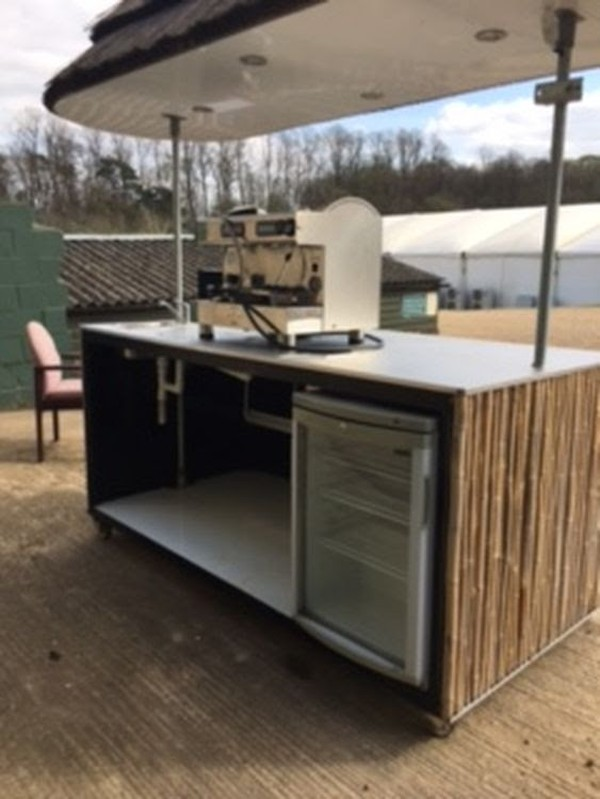 Mobile Bar Unit Side