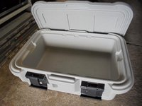 thermal food box/container open
