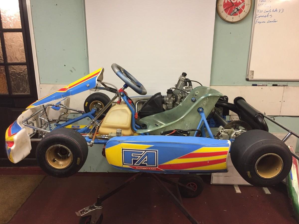 Secondhand Karting Co Uk Single Karts Otk Alonso Rotax