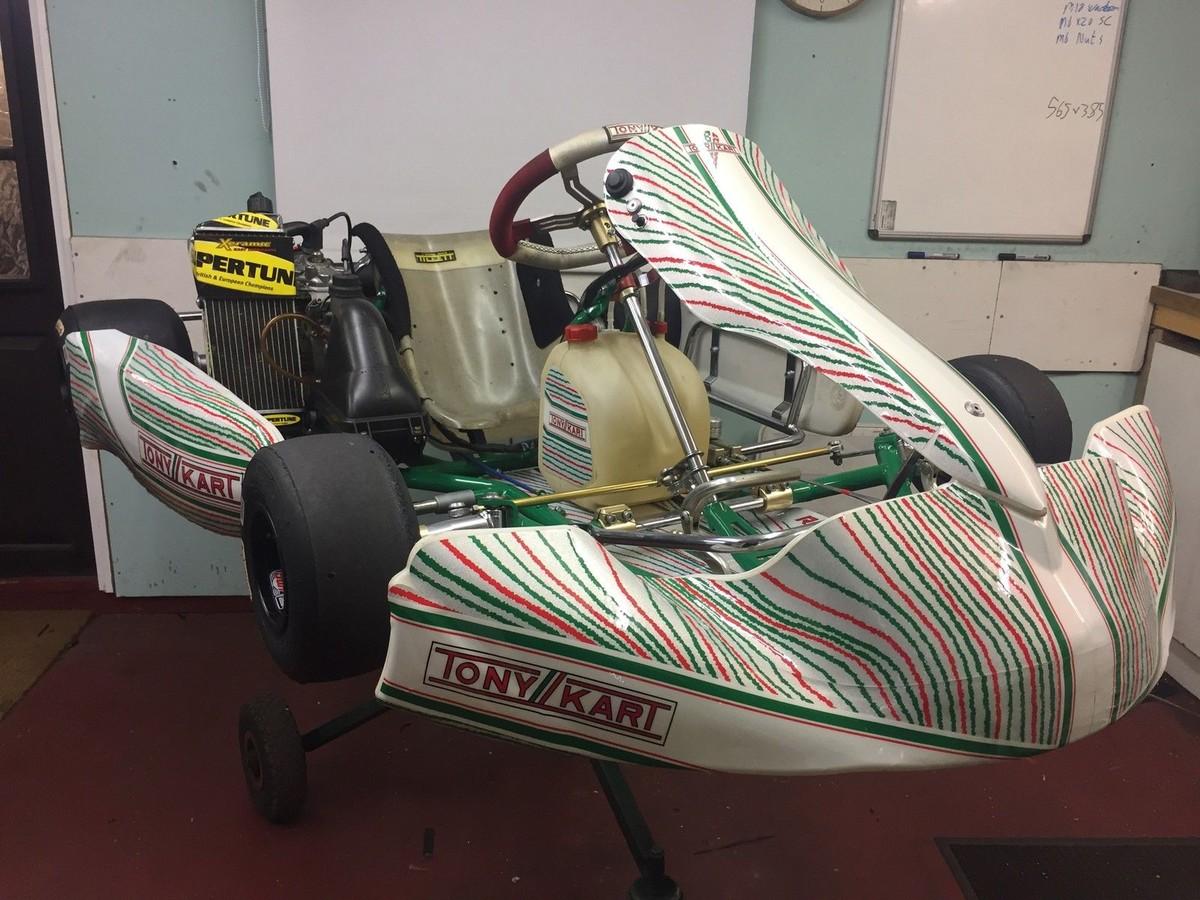 Secondhand Karting Co Uk Single Karts Tony Kart 2015