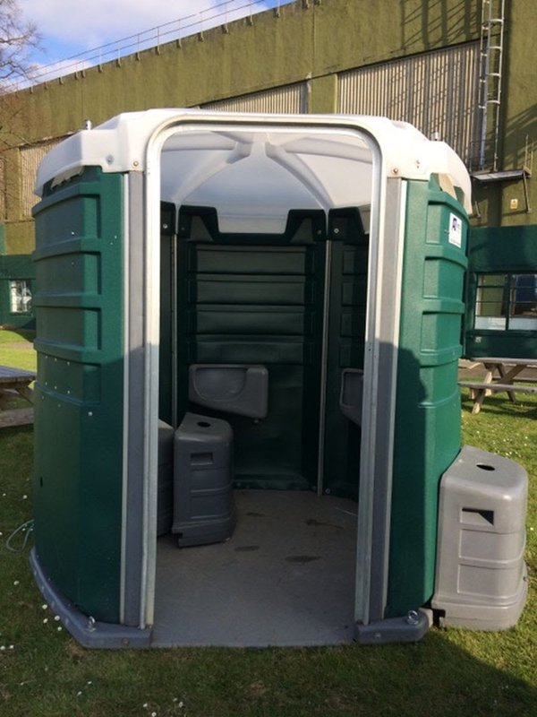 Large Poly John 5 bay Portable Urinal