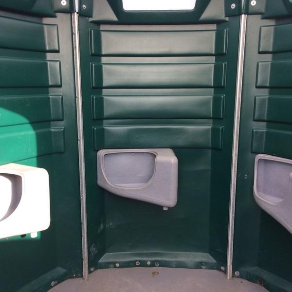 Large Poly John 5 bay Portable Urinal