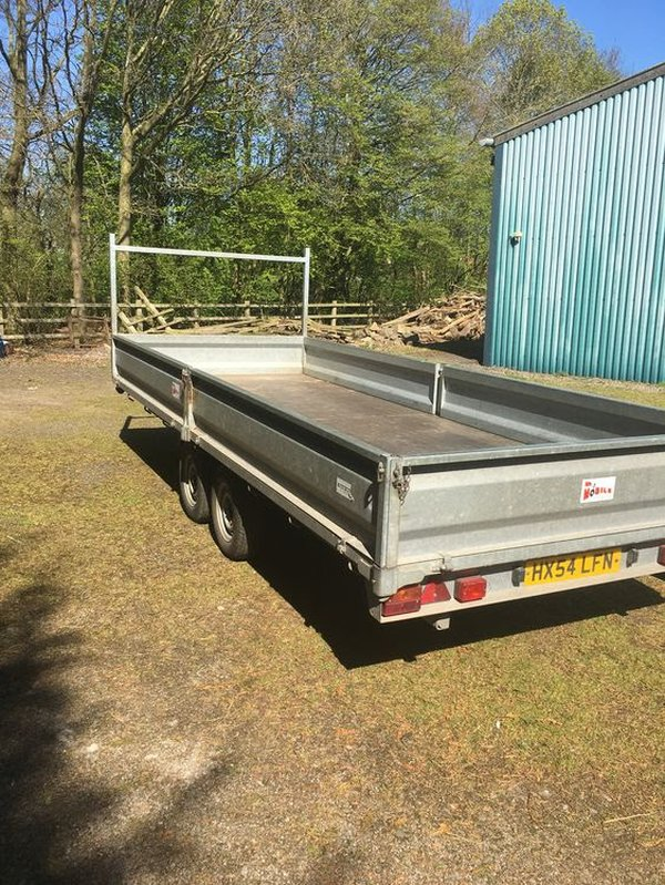 20' Flat Bed Trailer Length