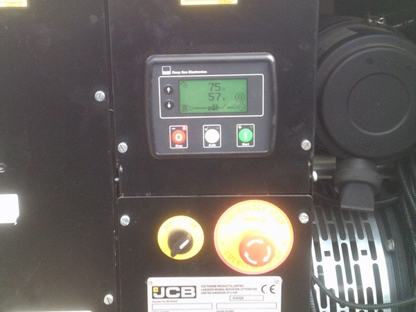 JCB Diesel Generator Display