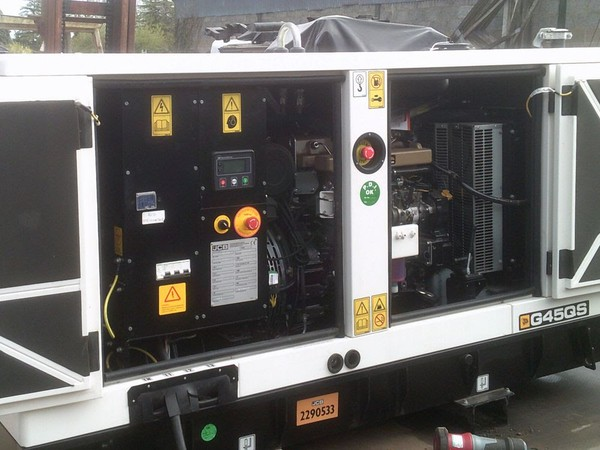 JCB Diesel Generator Inside Panel