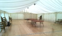 Permanent wedding marquee for sale