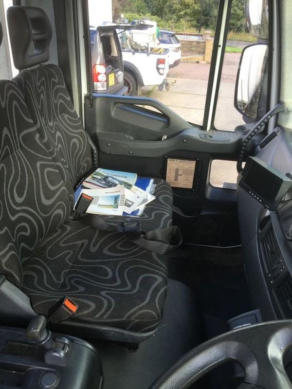Euro Cargo cab