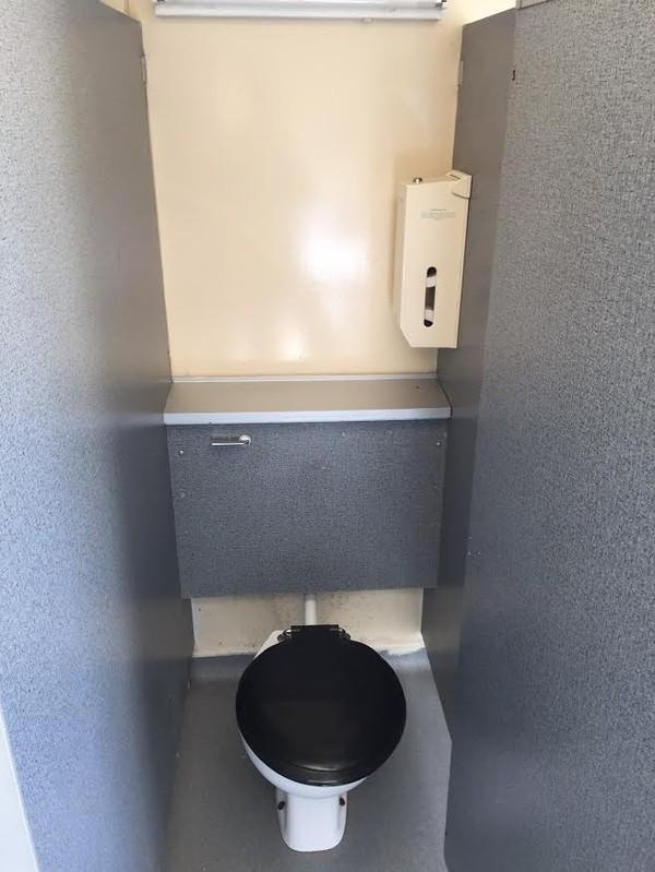 Portaloo 3 + 2 Toilet Trailer Single Stall