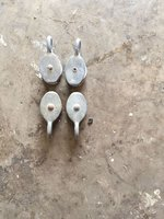 Galvanised Awning Pulley Blocks