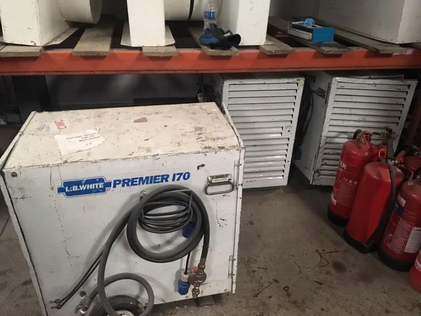 L.B.White Premier 170 Gas heater