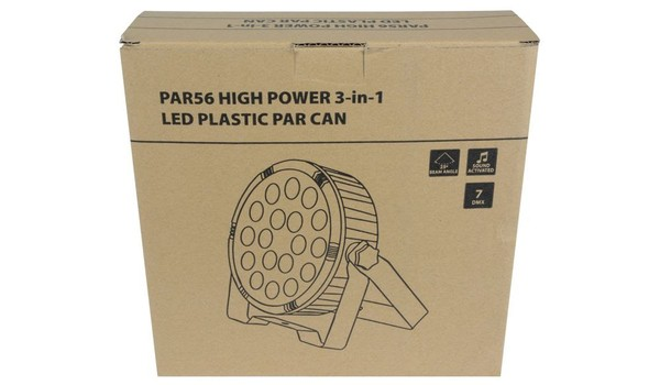 Par56 High Power 3 in 1 LED Par Can With Cables Boc