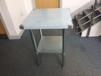 Catering Preperation Stainless Steel Centre Table - 600mm (SSCT-600)