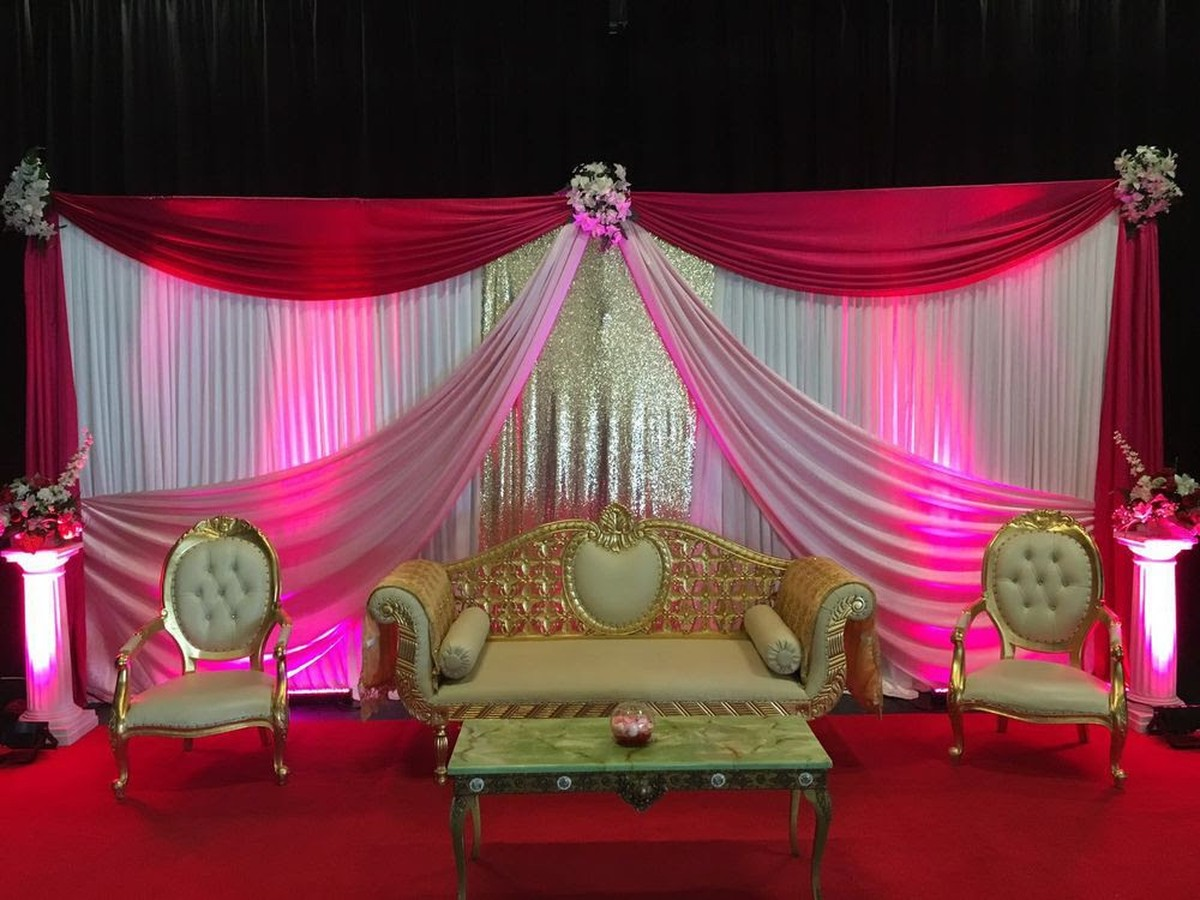 Profitable business for sale chair cover and venue decoration indian wedding stage junglespirit Images