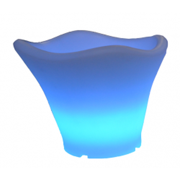 Blue LED Glowing Ice Buckets