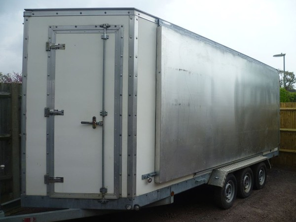 Stage trailer for sale