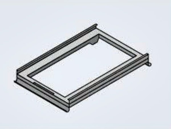 Run-in Rail For Mobile Oven Racks