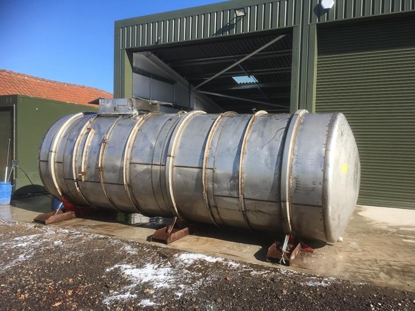 Stainless Steel  4000 Gallon Waste Holding Tank