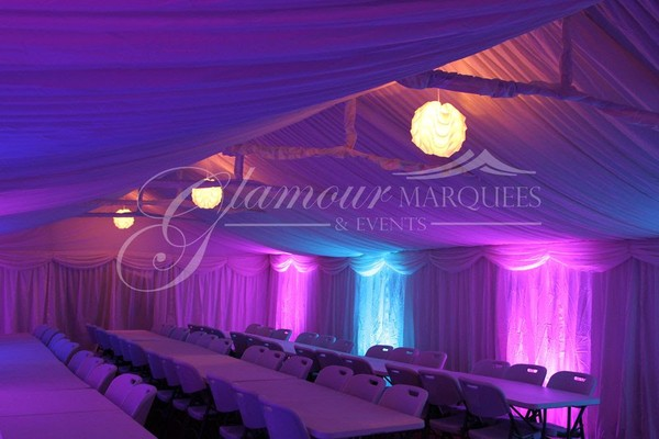 Glamour Marquees Company For Sale