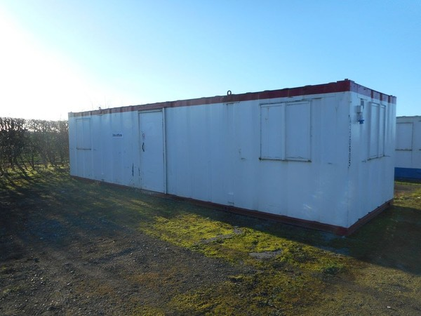 White anti vandal open plan office/canteen located North Yorkshire