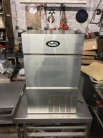 Stainless steel Foster F40 Ice Machine For sale
