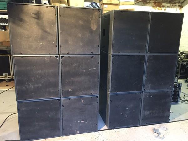 HL118 LF loudspeakers