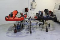 Rotax Senior Racing Karts 125cc X 2 With Trailer