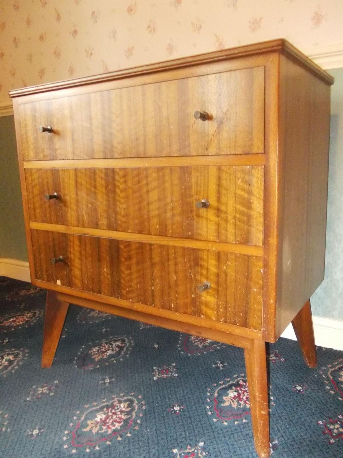Secondhand Vintage And Reclaimed Designer Furniture Retro Morris Cumbrae Bedroom Furniture