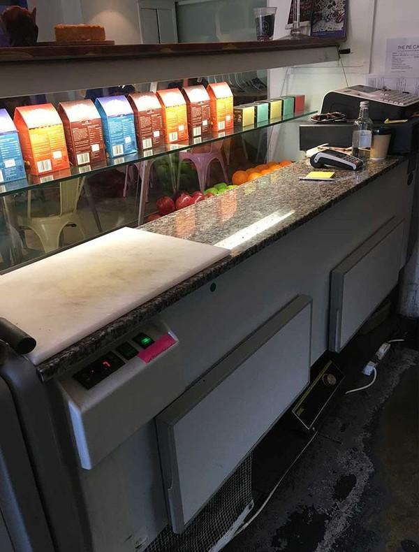 Custom Serve Over Counter