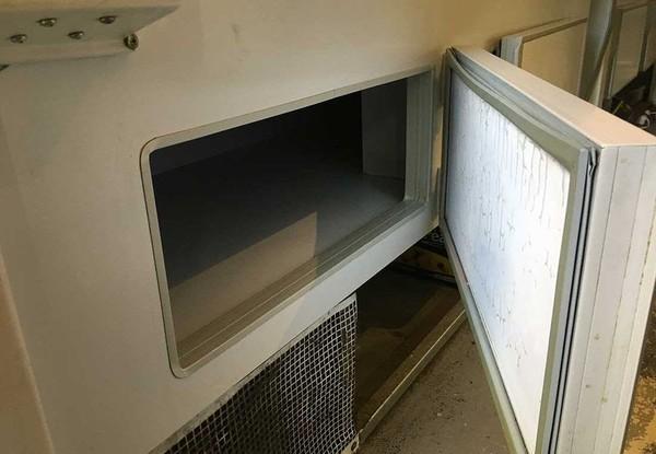 Custom Serve Over Refrigerated Storage