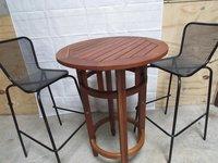 Mesh bar stools