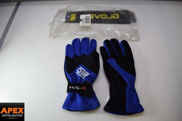 pair of OMP KS 4 Gloves size Small